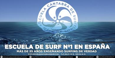 NUEVA TEMPORADA ESCUELA CANTABRA DE SURF