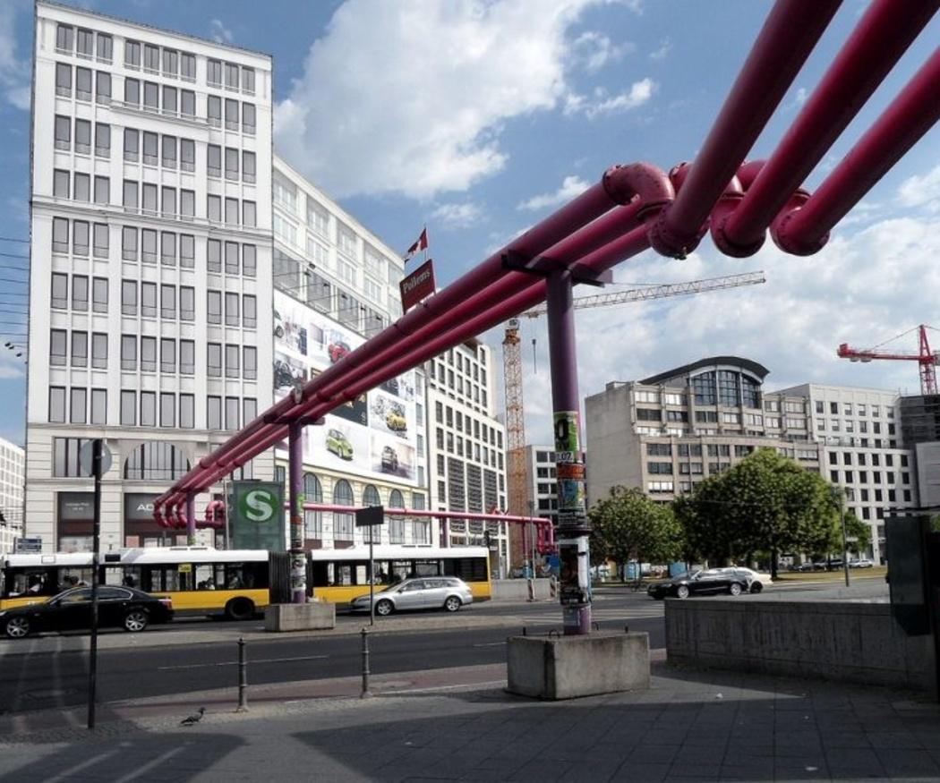 Las curiosas tuberías de gas y agua de Berlín