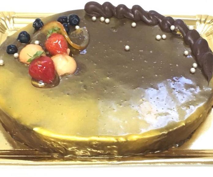Tarta de Mousse de chocolate en Jaen