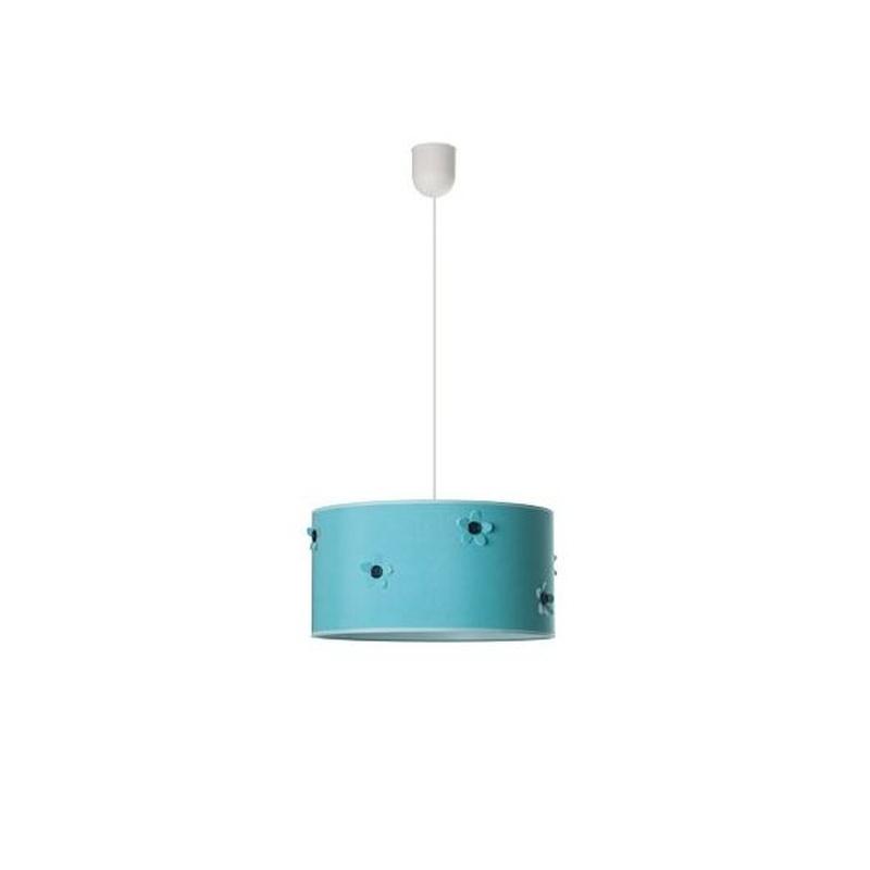Lámpara infantil modelo BOTÓN color turquesa