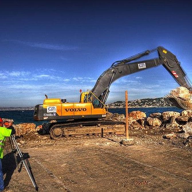 Principales procedimientos para excavaciones