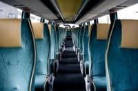 Autobús para el transporte escolar en Guipúzcoa