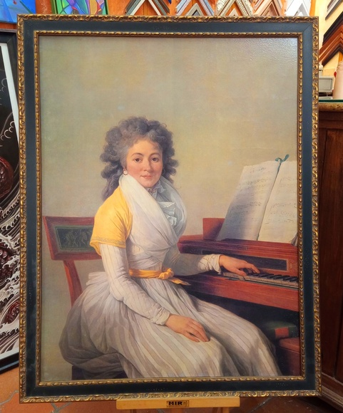 Retrato de Mademoiselle Duplant