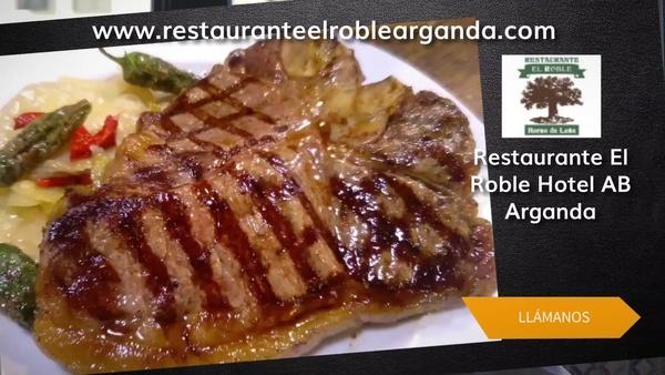 Restaurante asador en Arganda del Rey, Madrid, con los menús más variados - Restaurante El Roble