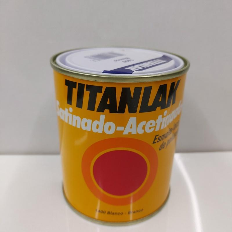 Pintura sintética Titanlak: Productos de Droguería Subirats