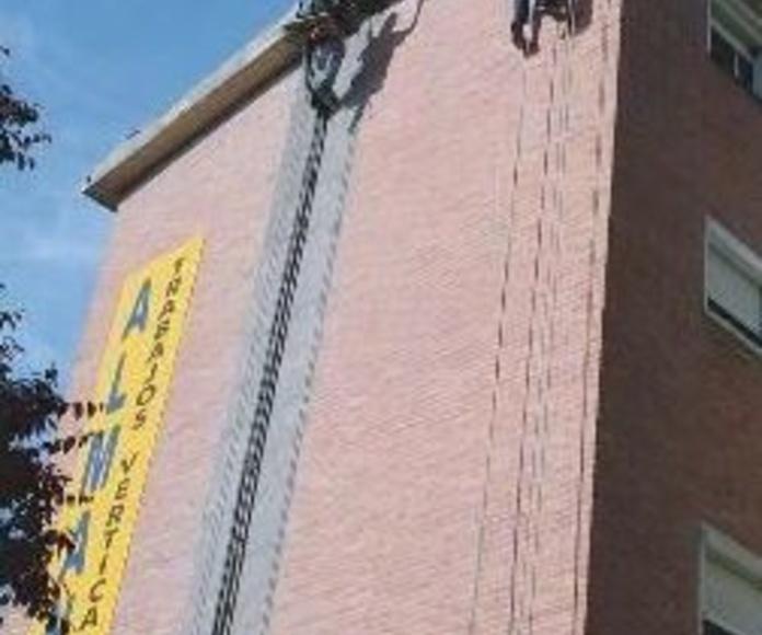 trabajos verticales en altura