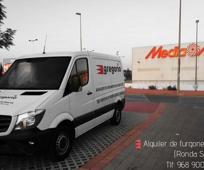 Alquiler furgonetas Gregorio Ronda Sur
