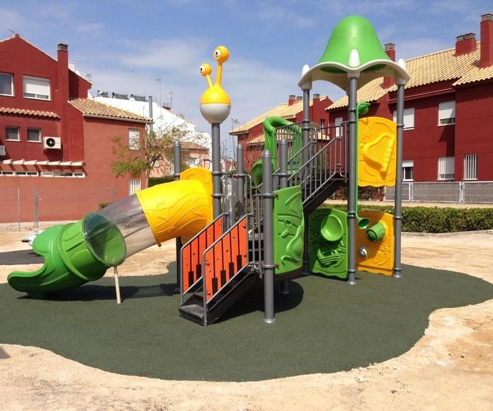 Caucho continuo ElastyPark Fino: PRODUCTOS y SERVICIOS de Pavimentos de Caucho