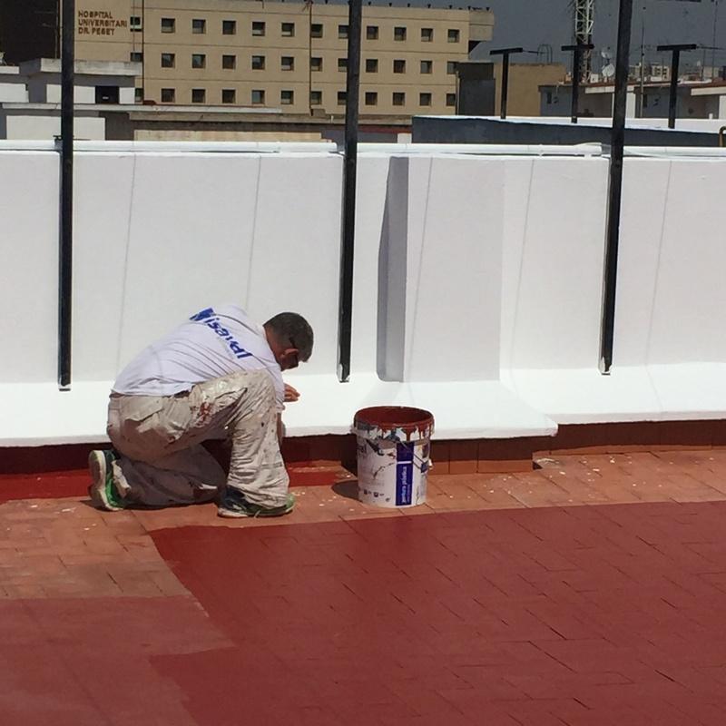 Impermeabilización de terrazas: Servicios de Fachadas Monzón