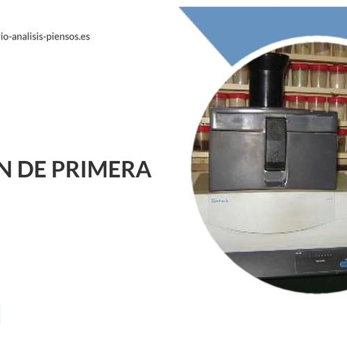 Análisis de piensos en Madrid centro | Ainprot