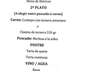 Menús Navideños Restaurante El Piornal y Mesón Caribe