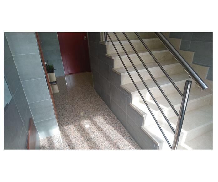 Reforma de portal con reforma de hueco de ascensor