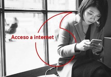 ACCESO A INTERNET GARANTIZADO