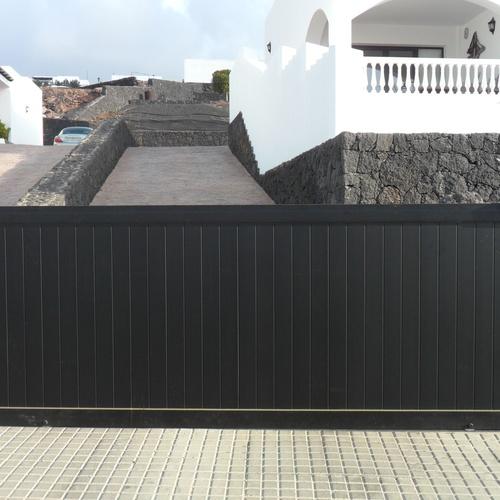Puerta de cochera corredera SERIE PORTALES