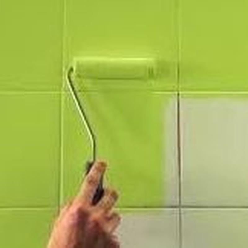 Esmalte de azulejos