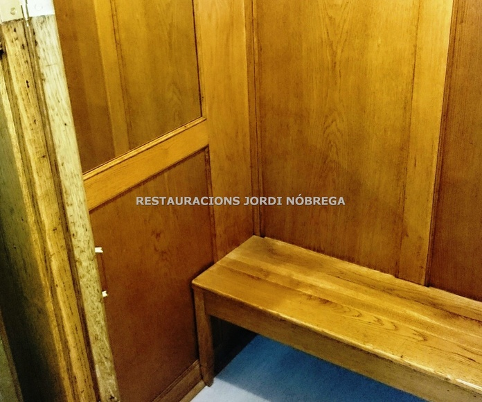 Restauracions Jordi Nóbrega. Especialistas en restauración de cabinas de ascensor en Barcelona