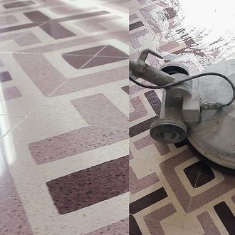Abrillantado de suelos y pavimentos