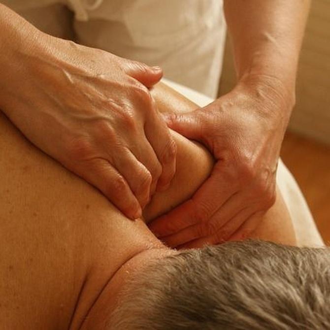 Técnicas usadas en los masajes terapéuticos