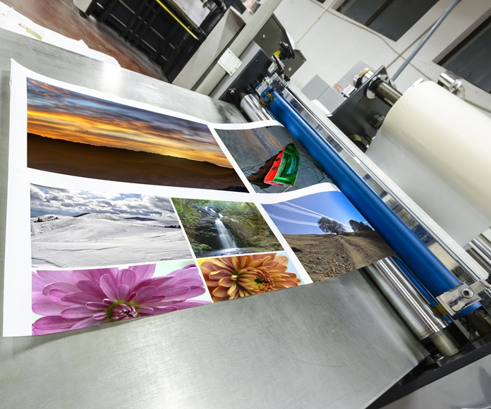 Impresión de gran formato para cartelería: Servicios de Grafimar