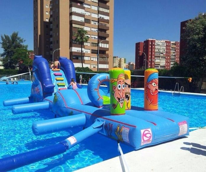 Hinchables acuáticos: Servicios de Bernal Espectáculos