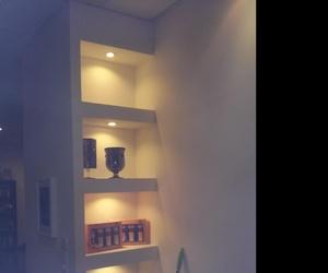 Estantería iluminada por eslovenos de LED de 5w de luz calida