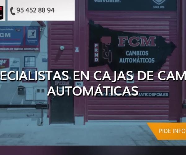Cajas de cambios en Sevilla | FCM Cambios Automáticos