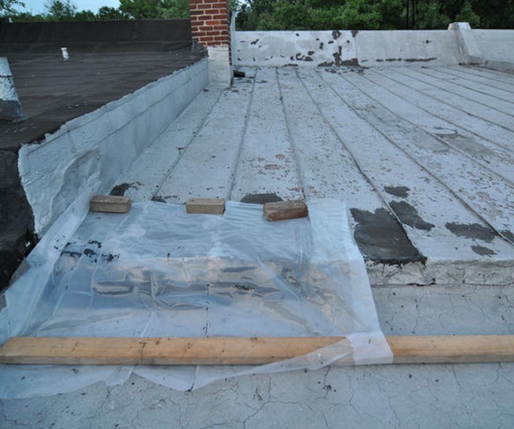 La reparación de goteras en tejados