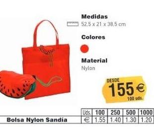 BOLSAS NYLON SANDIA