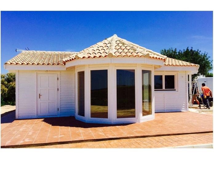 Daniela (80 m2): Casas de madera de 5SCC Casas de Madera