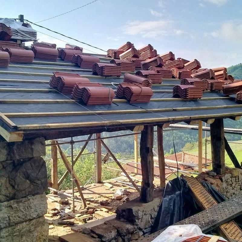 canalon continuo de aluminio lacado en Asturias