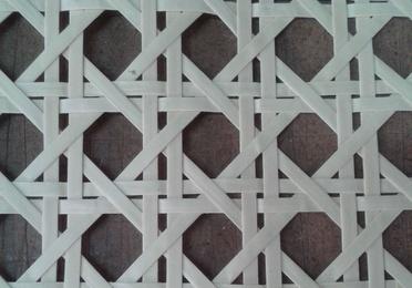 Tejido malla ancha papel