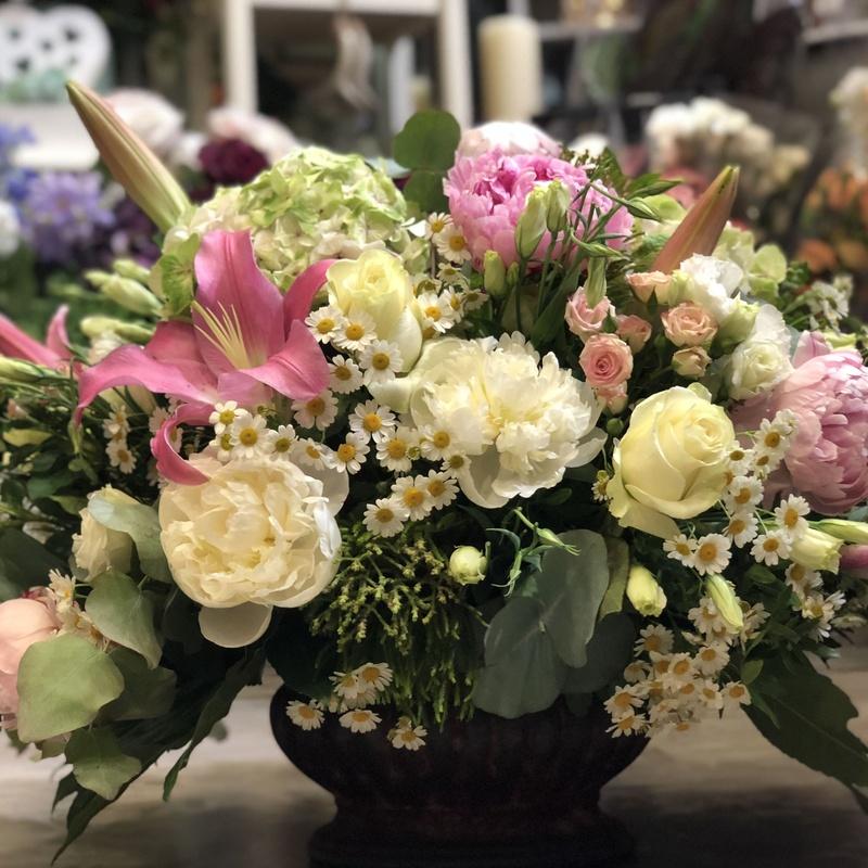 Centros de flores para regalar