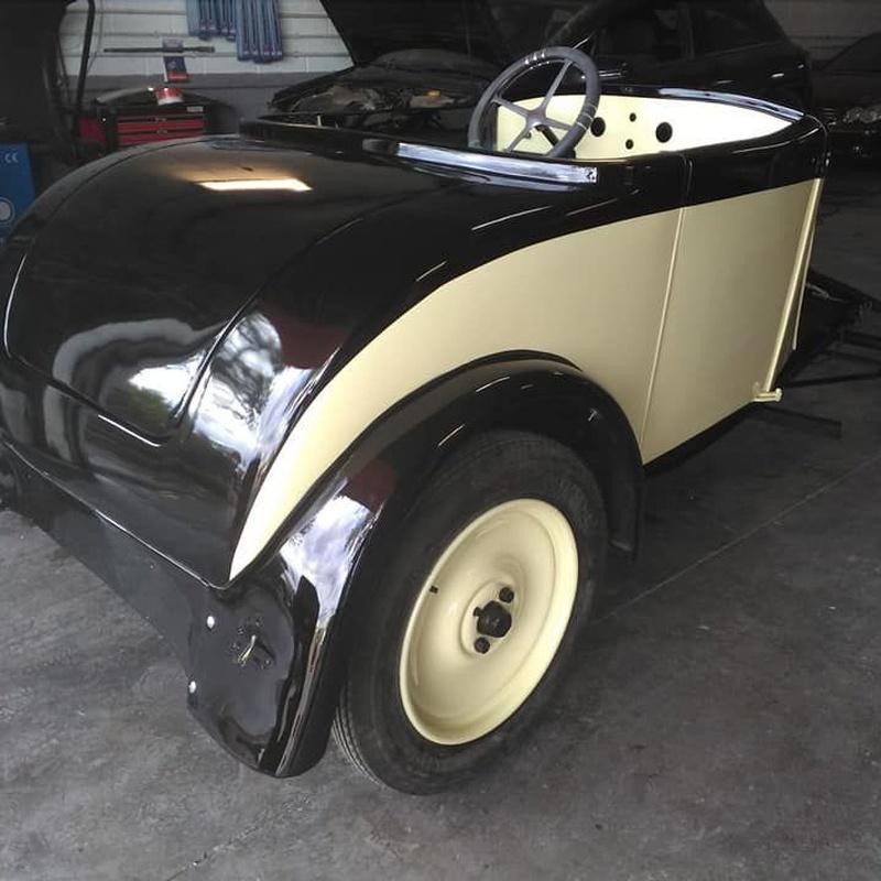 Restauración de coches clásicos: Servicios de Talleres J&J Motor