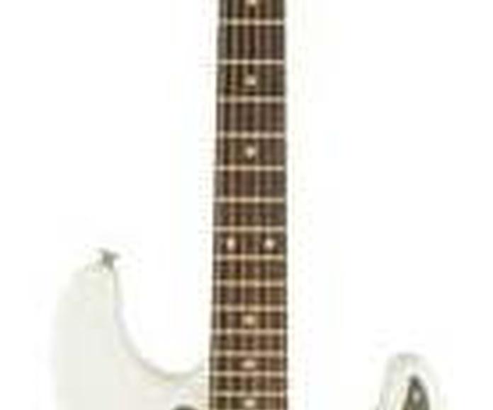 Fender SQ Affinity Strat HSS IL OWT guitarra electrica pastilla doble humbucker económica principiante