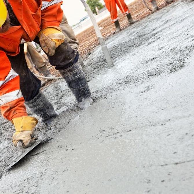 Los pavimentos de hormigón pueden necesitar varias semanas antes de fraguar por completo