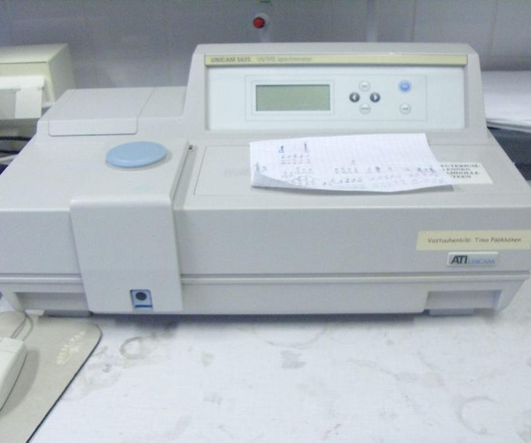 ¿Qué es la espectrofotometría?