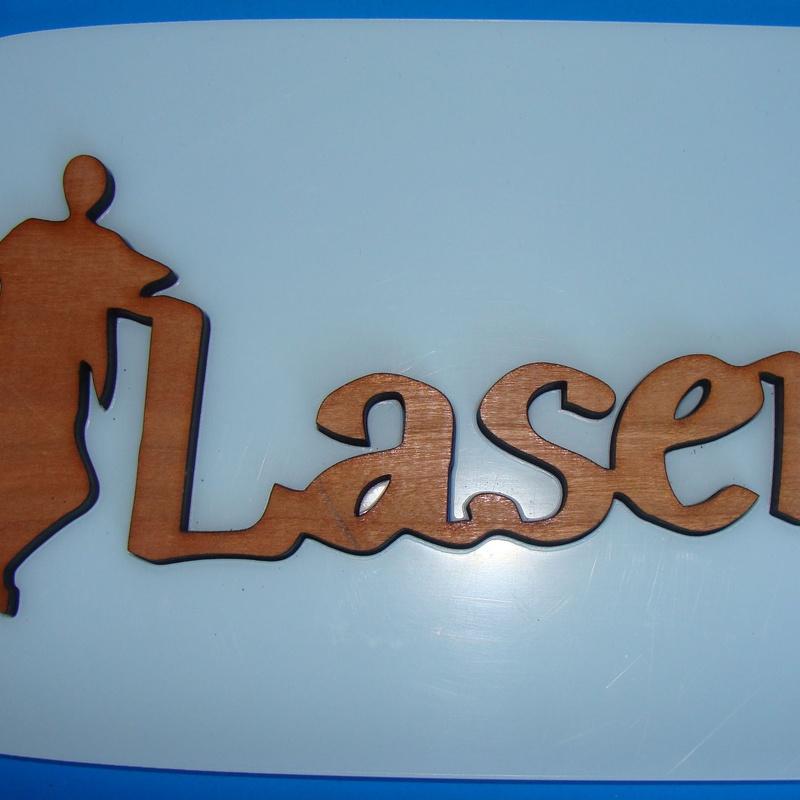 LETRAS EN MADERA: Trabajos Realizados de Personal Laser