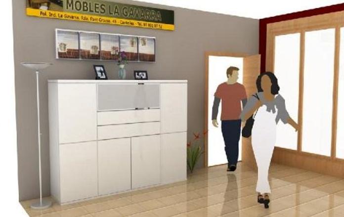 Galería de proyectos realizados en 3D + Render: Catálogo de Mobles La Gavarra