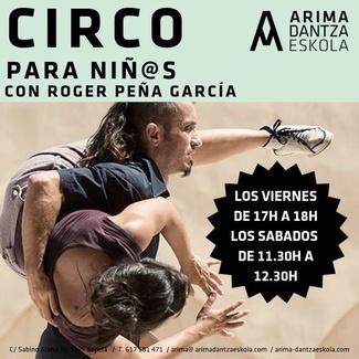 Circo para niños en Arima Dantza Eskola