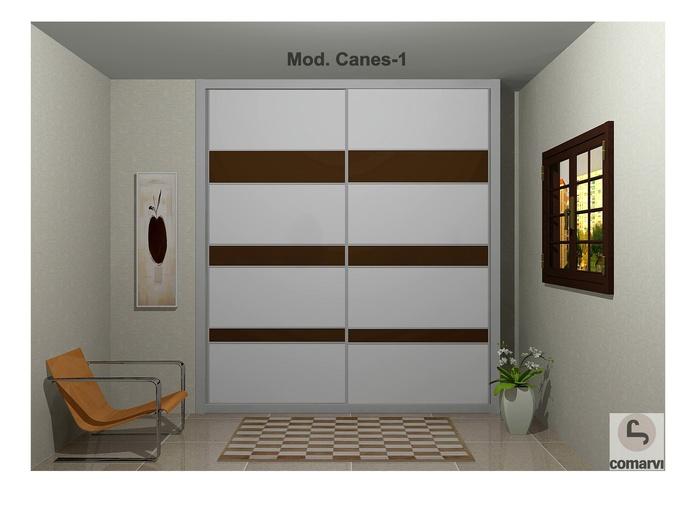 Frente de armario Modelo Canes 1
