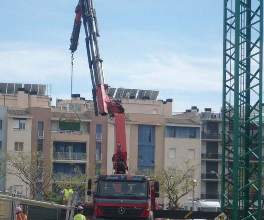 Normas de seguridad en el uso de grúas de construcción