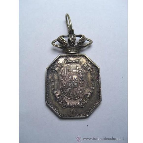 Justicia. Medalla venera para cuello. Época Alfonso XIII: Catálogo de Antiga Compra-Venta