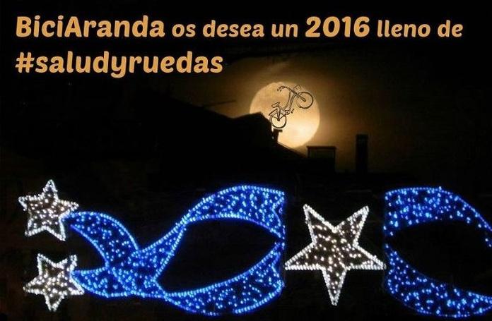 Bici Aranda os desea Feliz Navidad y próspero año nuevo