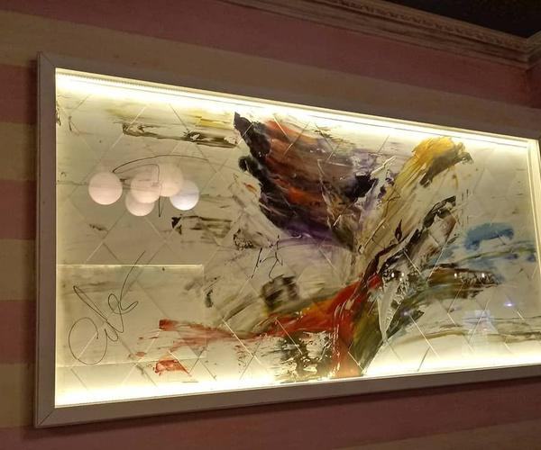 Cuadros de pintura abstracta en Vitoria
