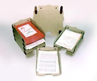 Archivadores y definitivos: Catálogo de Cartonajes A. Tolosa, S.L.