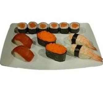 DRAGON ATÚN: Menús de Kiniro Sushi