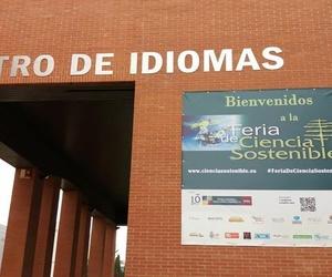 LONA EN LA FERIA DE CIENCIA SOSTENIBLE, Valladolid, 6 de mayo de 2017