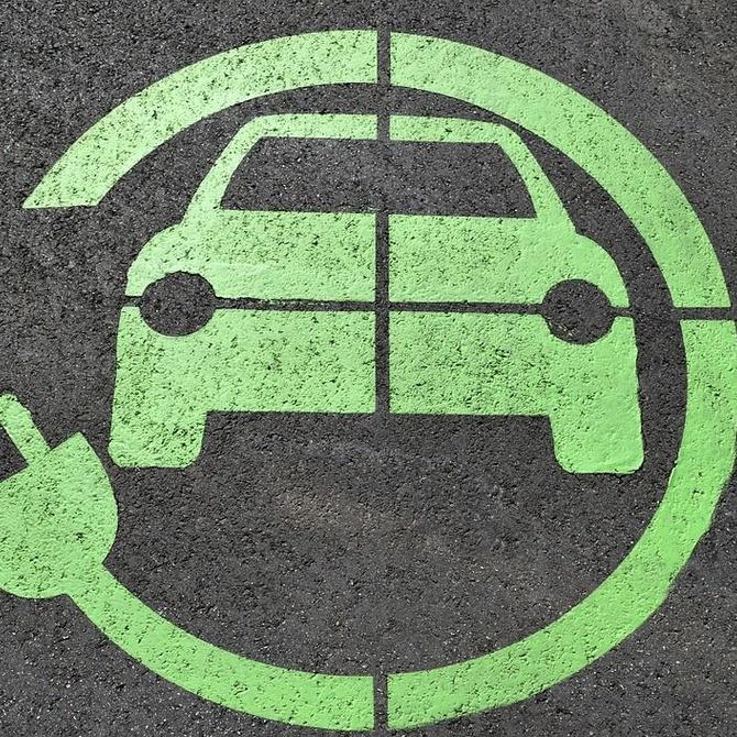 Automóviles eléctricos en el desguace