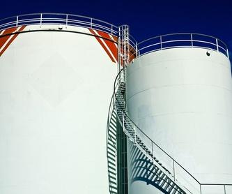 TUBERÍA CARGA DESPLAZADA LLENADO DEPÓSITO: Servicios de Instalaciones Petroliferas Hnos. López