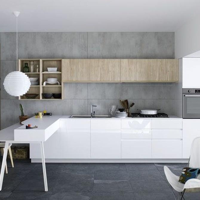 Pequeños trucos para aprovechar el espacio en tu cocina